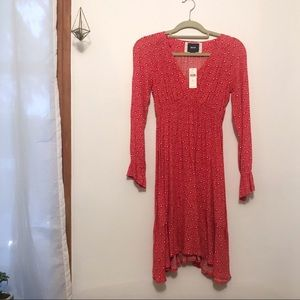Maeve long sleeve dress from Anthropologie